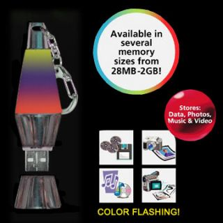256MB Black Chrome USB Flash drive Memory Stick with Phasing Light