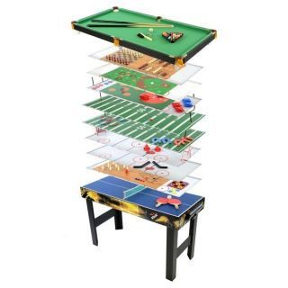 18 in 1 Table Game Center Arcade Air Hockey Foosball Ping Pong
