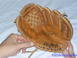 ALEX RODRIGUEZ RAWLINGS AUTOGRAPH MODEL RBG108 BASEBALL GLOVE NEW YORK