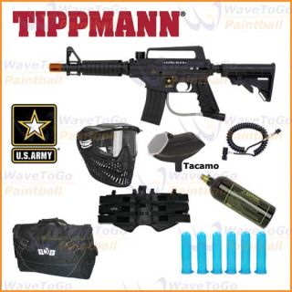 US ARMY Alpha Black Tactical Tippmann SNIPER Paintball Gun Bag