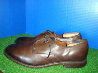 ALLEN EDMONDS KENILWORTH MENS BROWN SHOES OXFORDS SIZE 11 NICE