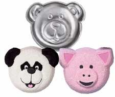 Animal Crackers Cake Pan Wilton Jungle Party Supplies