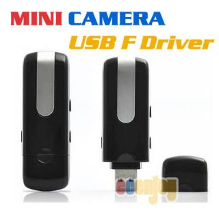 U10 HD Spy Wireless Mini USB Flash Drive DVR Hidden Surveillance Video