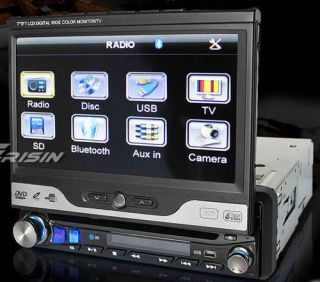 ERISIN ES736 7 1DIN CAR DVD PLAYER TOUCH SCREEN BLUETOOTH TV RADIO USB