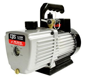 cps vp6s 6 cfm single stage vacuum pump time left