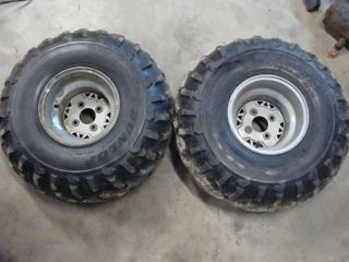 XPLORER 400L W969140 4X4 94 95 97 atv rear wheels tires rims 25x11 10