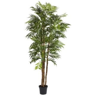 Large 6 Realistic Fake Artificial Silk Bella Palm Tree Plant Bamboo