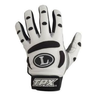 Louisville Slugger Ladies Bionic Batting Gloves Wht XL