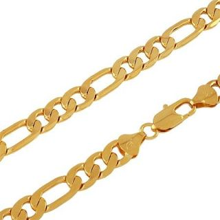 AU Cool Yellow Gold Filled Mens Jewellery Bracelet Necklace 19 3