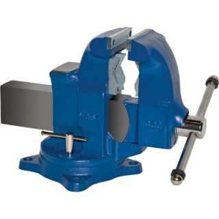 Yost Heavy Duty Industrial Combo Bench Vise Swivel Base 5in Jaw Width