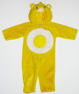 Funshine Bear Care Bears Yellow Sun Plush Halloween Costume s 1 2