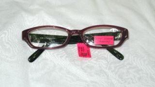 BETSEY JOHNSON VIOLET GREEN ROSE READING GLASSES +1.5