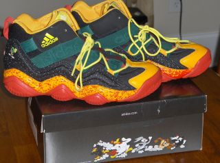 New Adidas Top Ten 2000 Basketball Shoes Size 5 5 Looney Toons Active