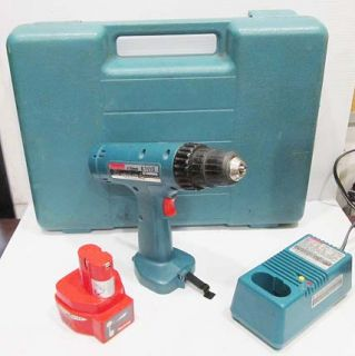 MAKITA 6211D 12 VOLT CORDLESS DRILL W/ BATTERY + CASE & CHARGER