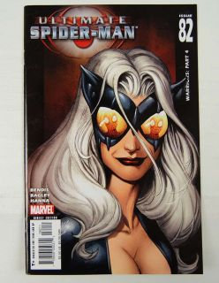 Ultimate Spider Man 82 VF Black Cat Bendis Bagley