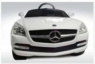 New Luxurious White Mercedes Benz Ride on Car for Kids Battery