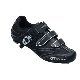 Serfas Womens Podium Road Cycling Shoes Black 41