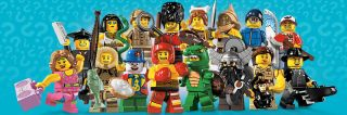 Korea Lego 8805 Minifigures Series 5 Minifig City Complete Set 16 pcs