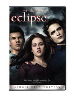 New The Twilight Saga Eclipse Single Disc Edition DVD 2010