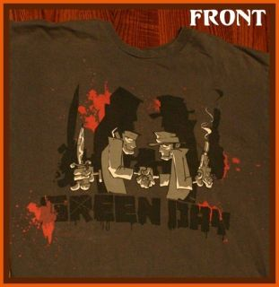 14 Delivered Green Day Billie Joe Armstrong Punk Rock T Shirt M