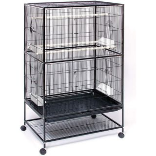 Pet Products Wrought Iron Flight Cage Prevue F040 Cage for Small Birds