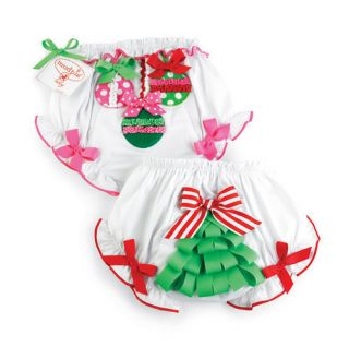 Mud Pie Santa Baby Ornament Tree Bloomers 0 6 MO