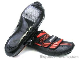 Bont Cervelo Test Team CTT 3 Road Cycling Shoes   Black/Red   NEW