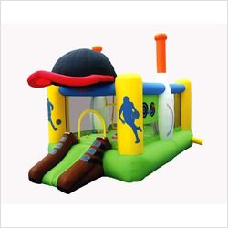 All Sports Center Bounce House OUR SKU# BXV1009 MPN 9110 Condition
