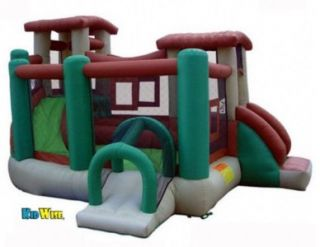 CLUBHOUSE CLIMBER INFLATABLE BOUNCE HOUSE Bouncer Slide Air Blown Game