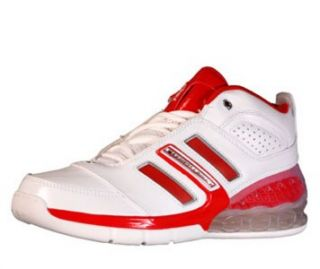 Adidas Bounce Artillery II Red Basketball Shoes Mens 20 Orthotics New