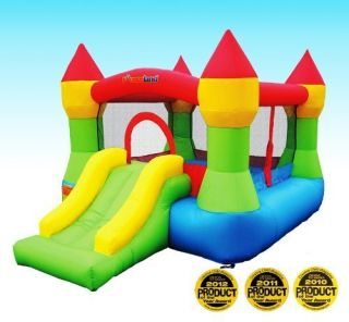 Bounceland Castle w Hoop Inflatable Bounce House Bouncer