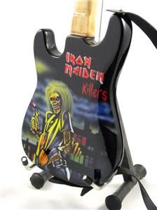 Miniature Guitar Iron Maiden Killers Strap