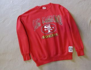 Shirt San Francisco SF 49ERS NFL Nutmeg Mills Brand USA, Size Large