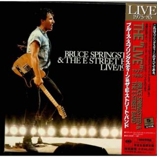 BRUCE SPRINGSTEEN LIVE 1975 85 Japan 5CD Box Reissue w Obi Booklet New