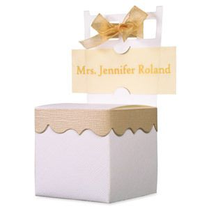Chair Placecard Favor Box Wedding Reception Shower Gift