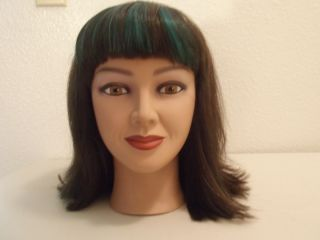 Cosmetology Mannequin Head Human Hair Student Mannequin