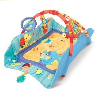 Bright Starts Baby's Play Place Mat Blue