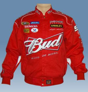 2009 Kasey Kahne 9 Bud NASCAR Twill Red Jacket 3XL