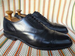 AWESOME ALLEN EDMONDS BYRON MEN SHOES SZ 11 A BLACK CAPTOE OXFORDS