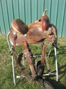Courts Saddlery Sharon Camarillo Petite 13 Barrel Racing Saddle