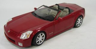 Hot Wheels 2001 Cadillac XLR Convertible 1 18 Scale Die Cast Model Car