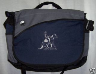 Reining Horse Laptop Bag Rodeo Western Cutting Navy New