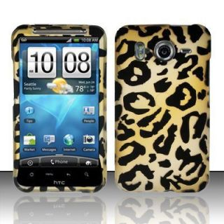 HTC Inspire 4G Brown Cheetah Hard Phone Cover Case