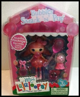 Lalaloopsy Candy Store Bubbles Smack N Pop Mini Collectable Doll 1
