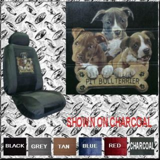 Pit Bull Terrier Dog Puppy Car Truck SUV Seat Covers PP
