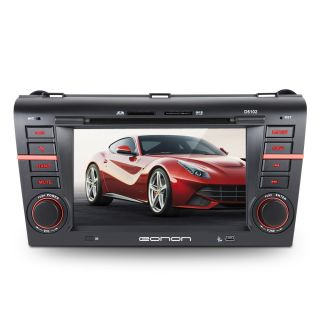 D5102U 7 HD LCD Car GPS Navigation DVD Stereo Radio Player for Mazda3