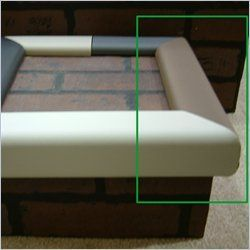 Cardinal Gates Kids Edge Hearth Pad Kit Brown