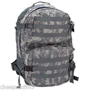 Heavy Duty Water Resistant Digital Camouflage Army Backpack