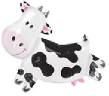Cow Barn Farm Party Balloon Birthday Supplies Animals