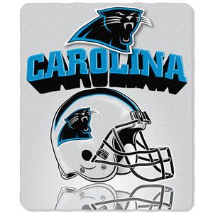 Carolina Panthers Fleece Throw Blanket 50 x 60